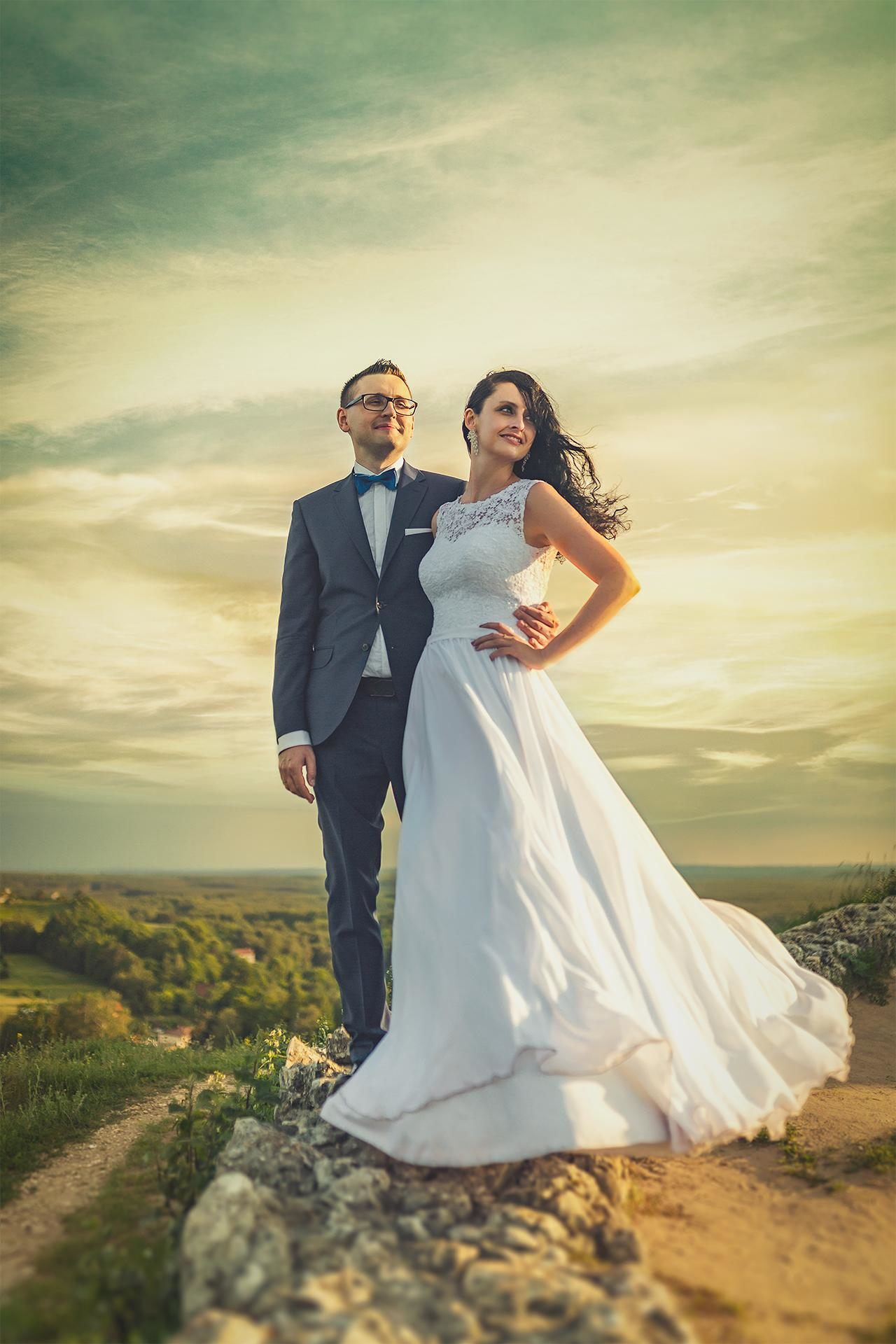 Para młoda - plener ślubny