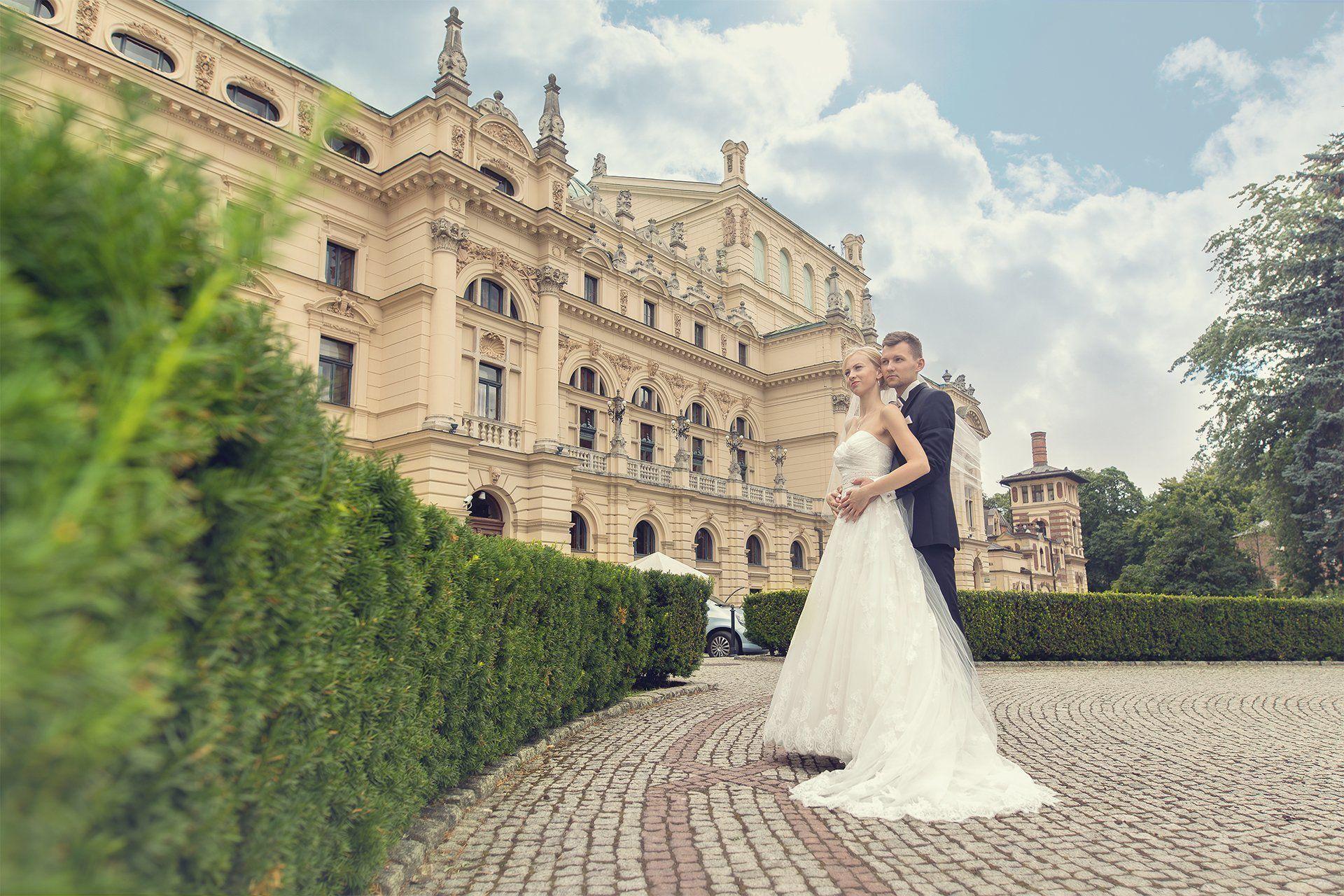 Plener ślubny Kraków