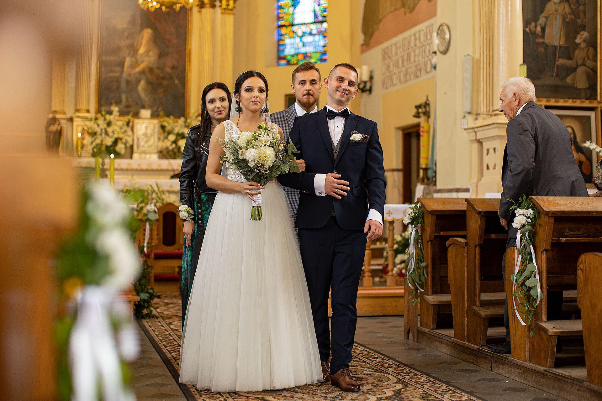 Kasia i Adam - zdjęcia ślubne Bełchatów