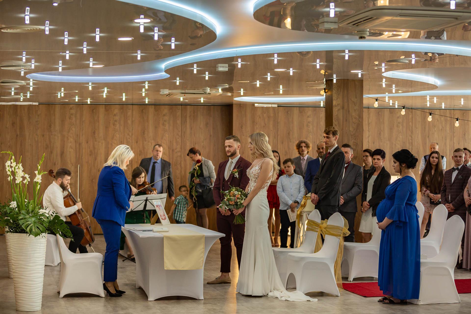 Kamila i Fabian - ślub i wesele w Radomsku