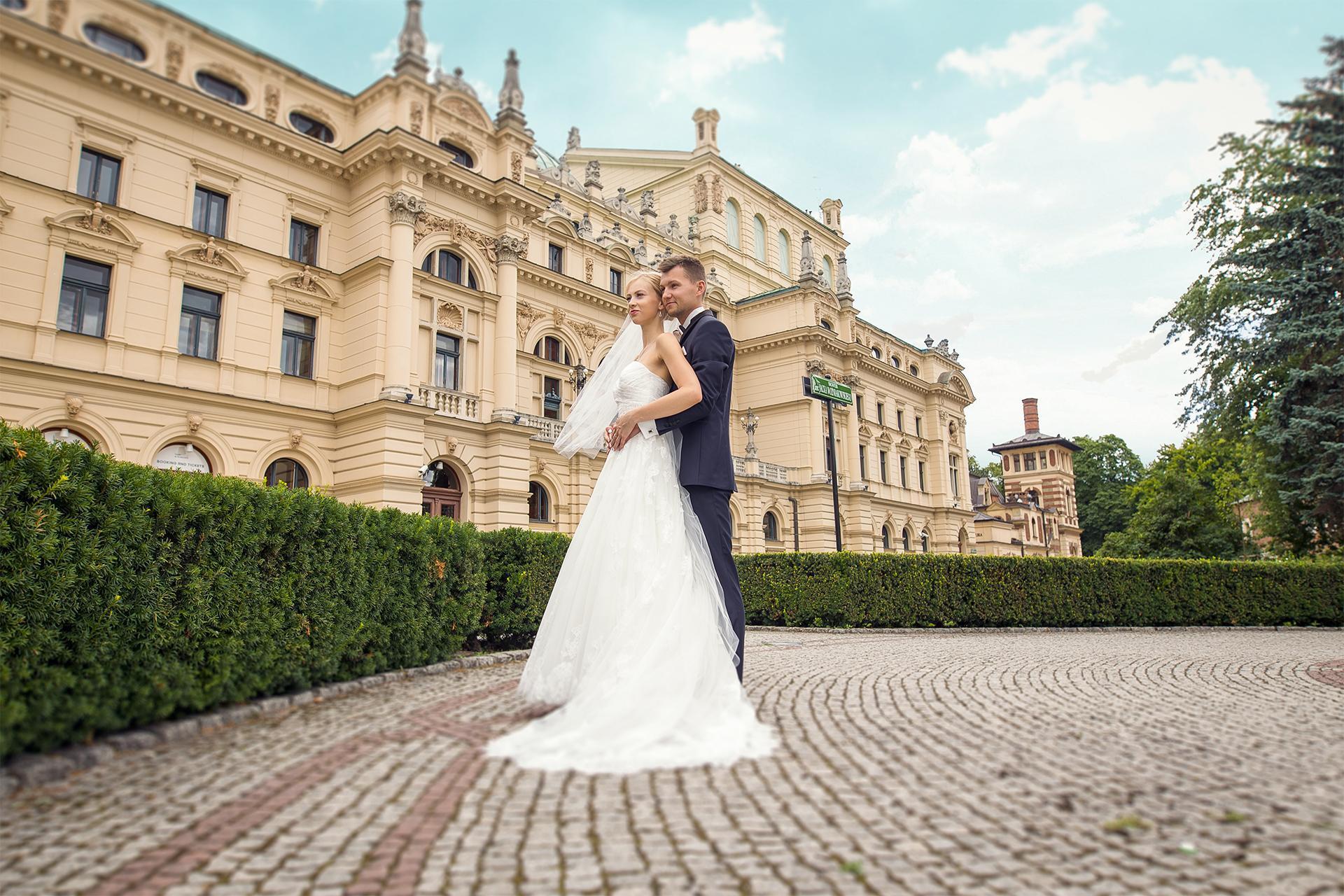 Plener ślubny w Krakowie - Patrycja i Michał