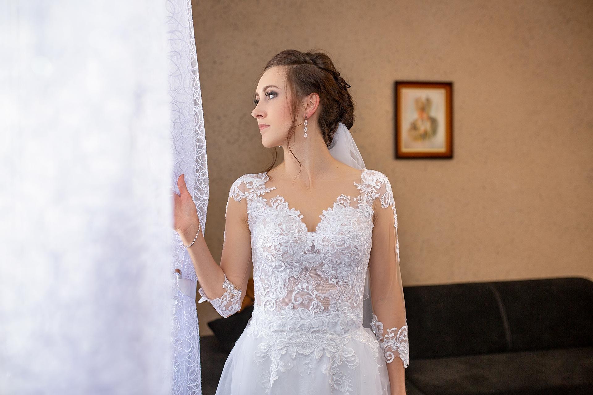 Reportaż ślubny - pani młoda