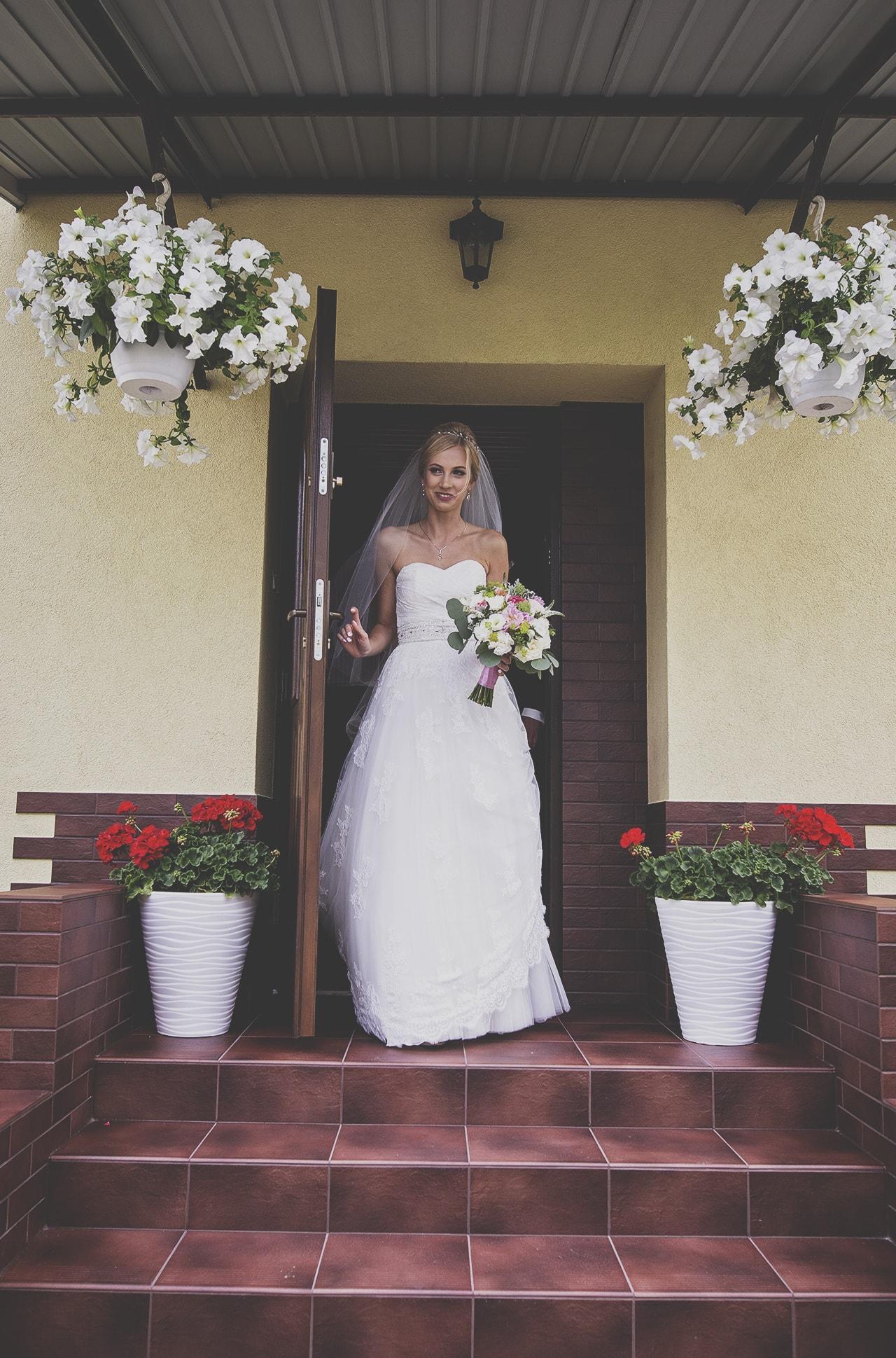Ślub - Wyjście z domu