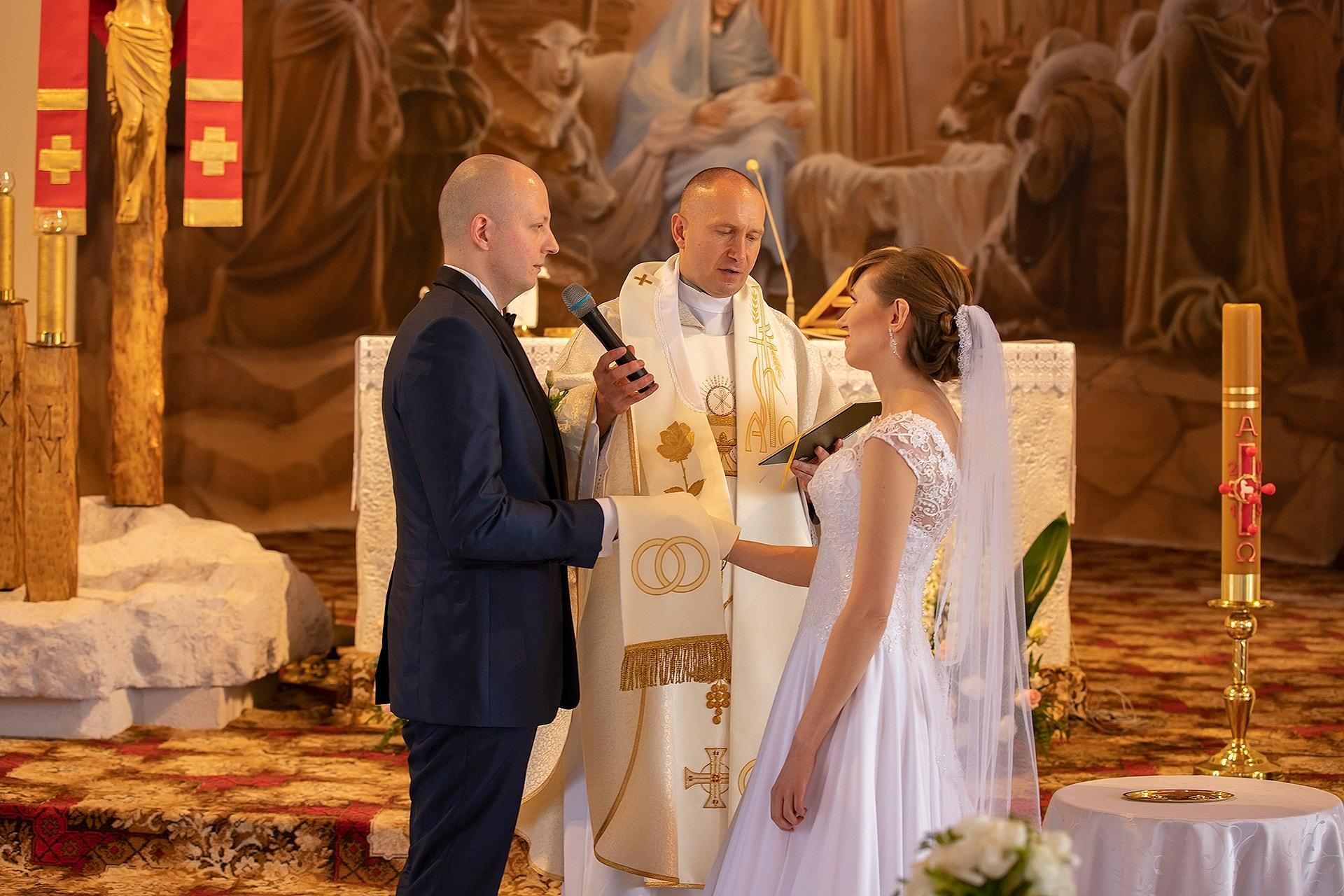 Ślub kościelny Pajęczno