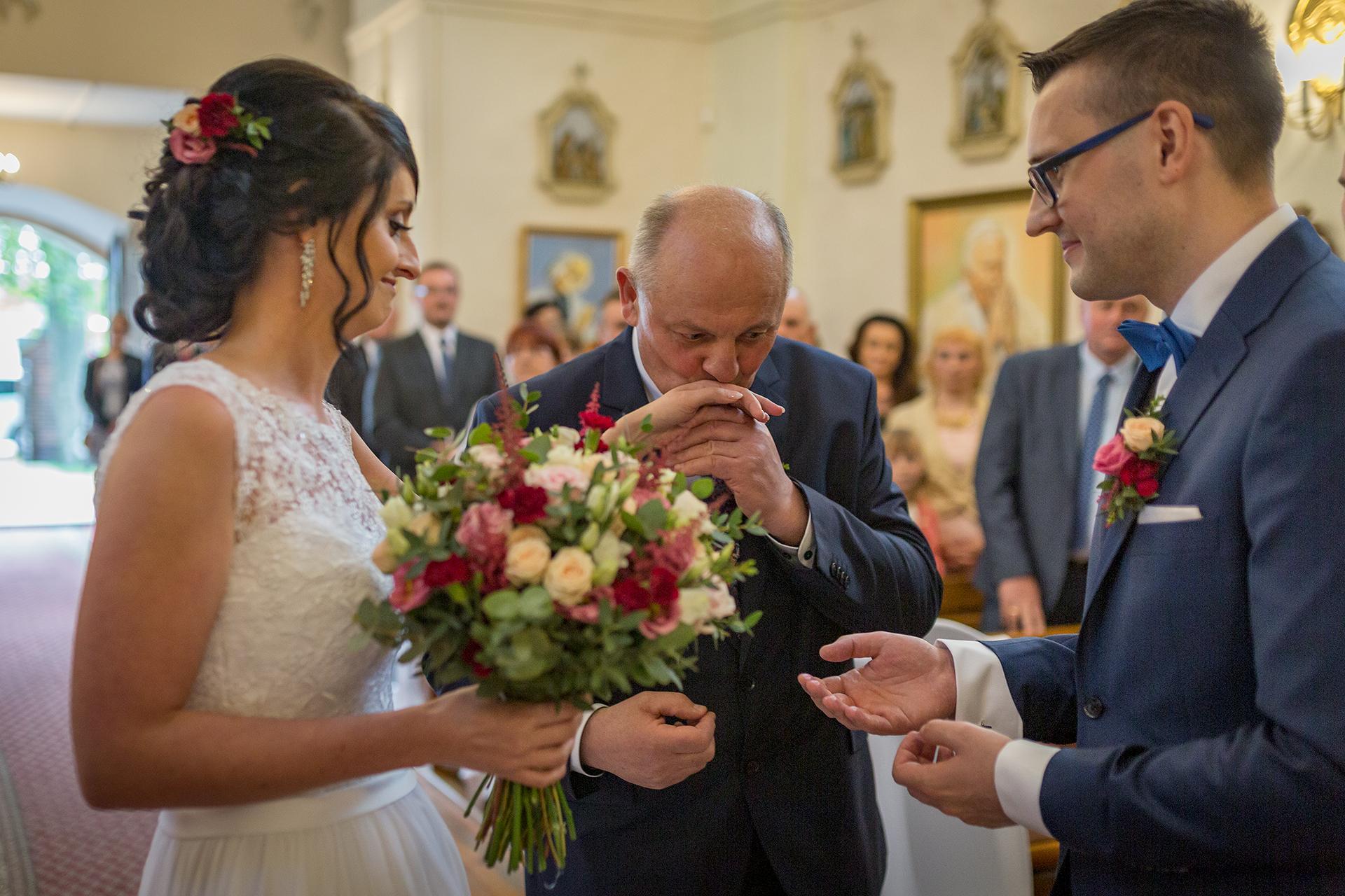 Ceremonia Ślubna - Tata Pani Młodej