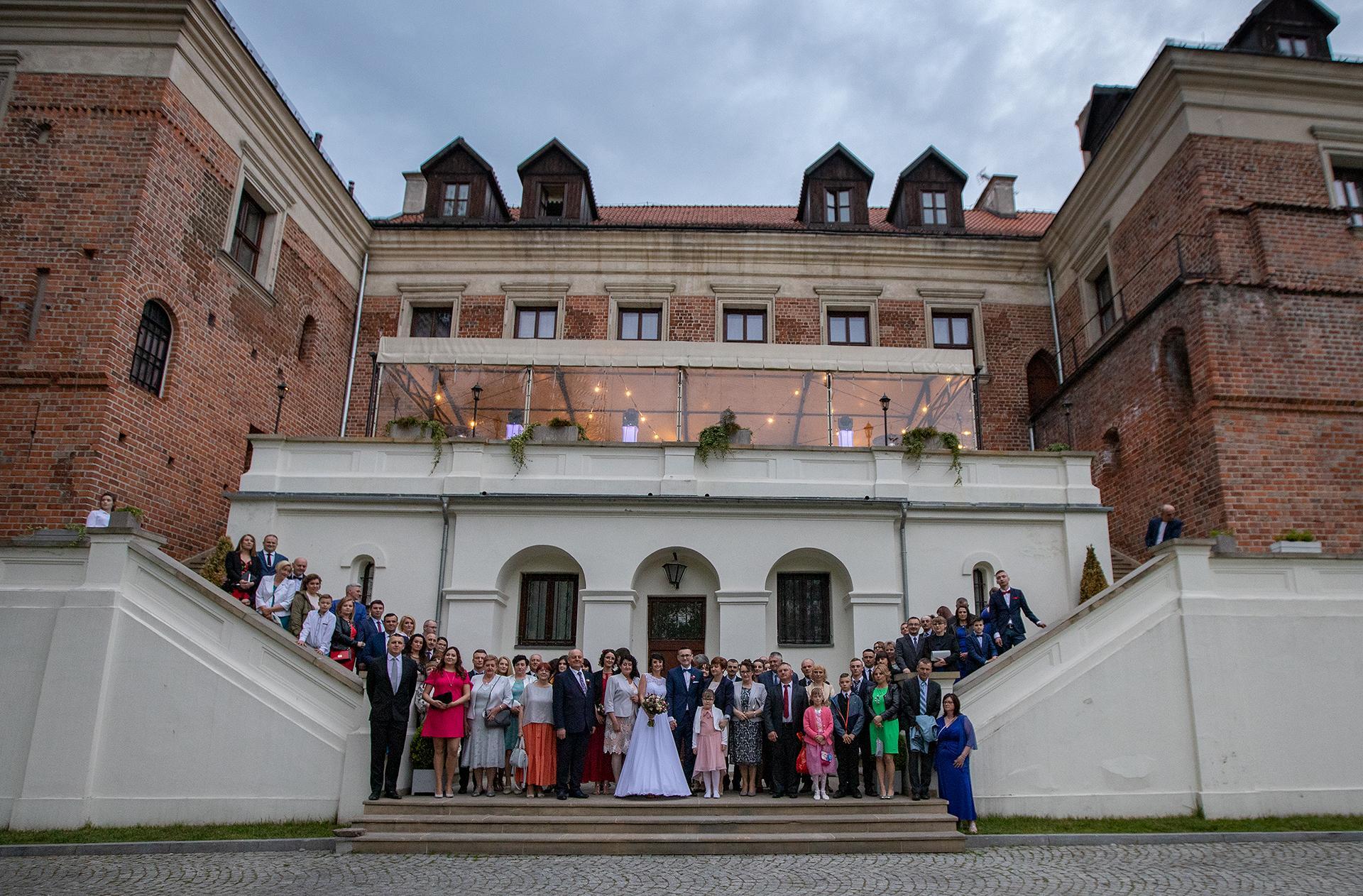 Ślubne Zdjęcie Grupowe