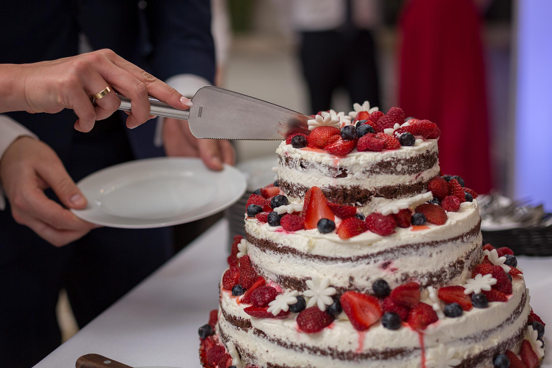 Tort Weselny - Detal