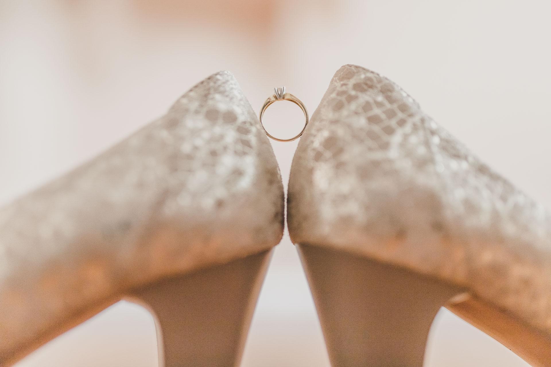 Detal - Pierścionek zaręczynowy