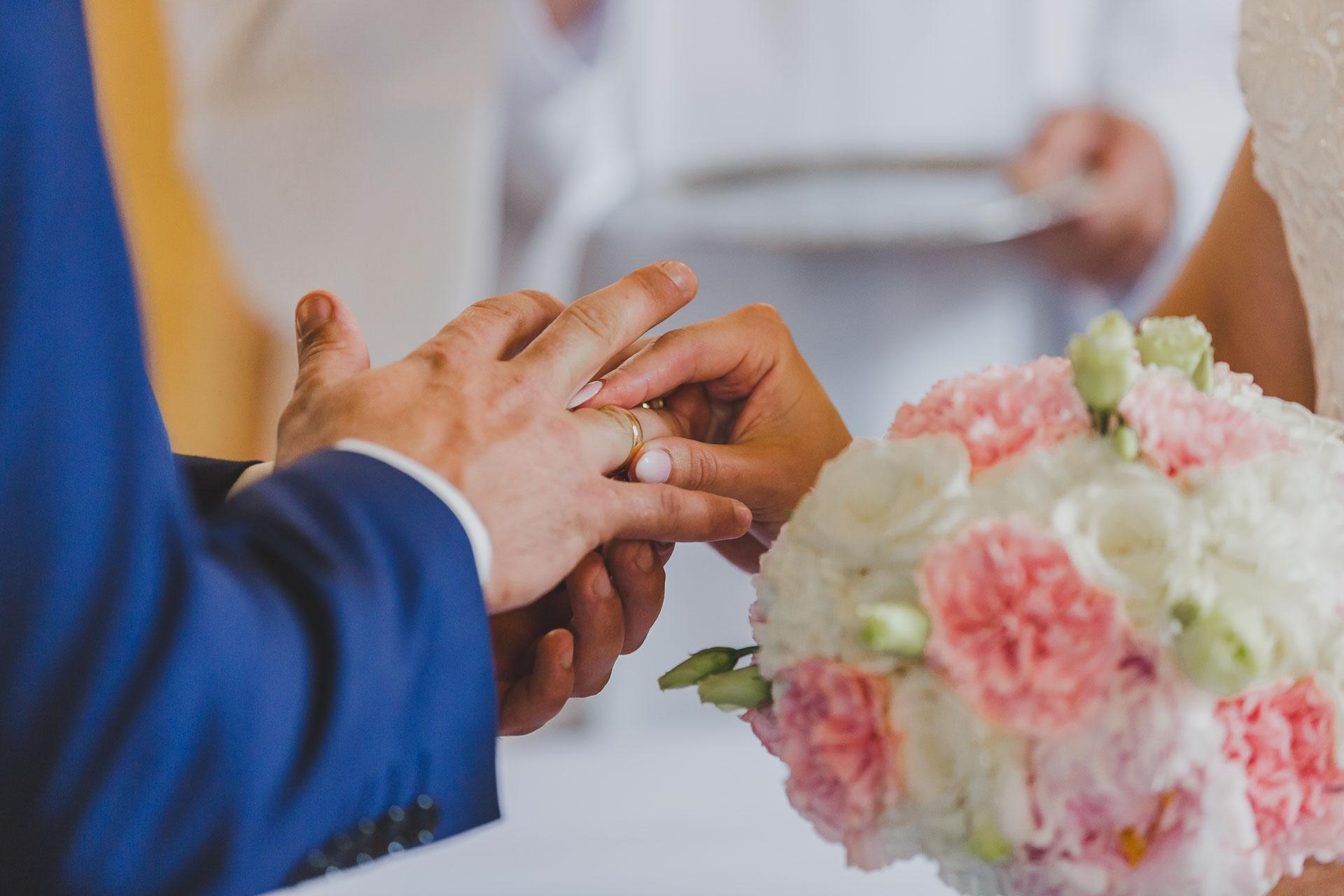Obrączki ślubne - ceremonia zaślubin