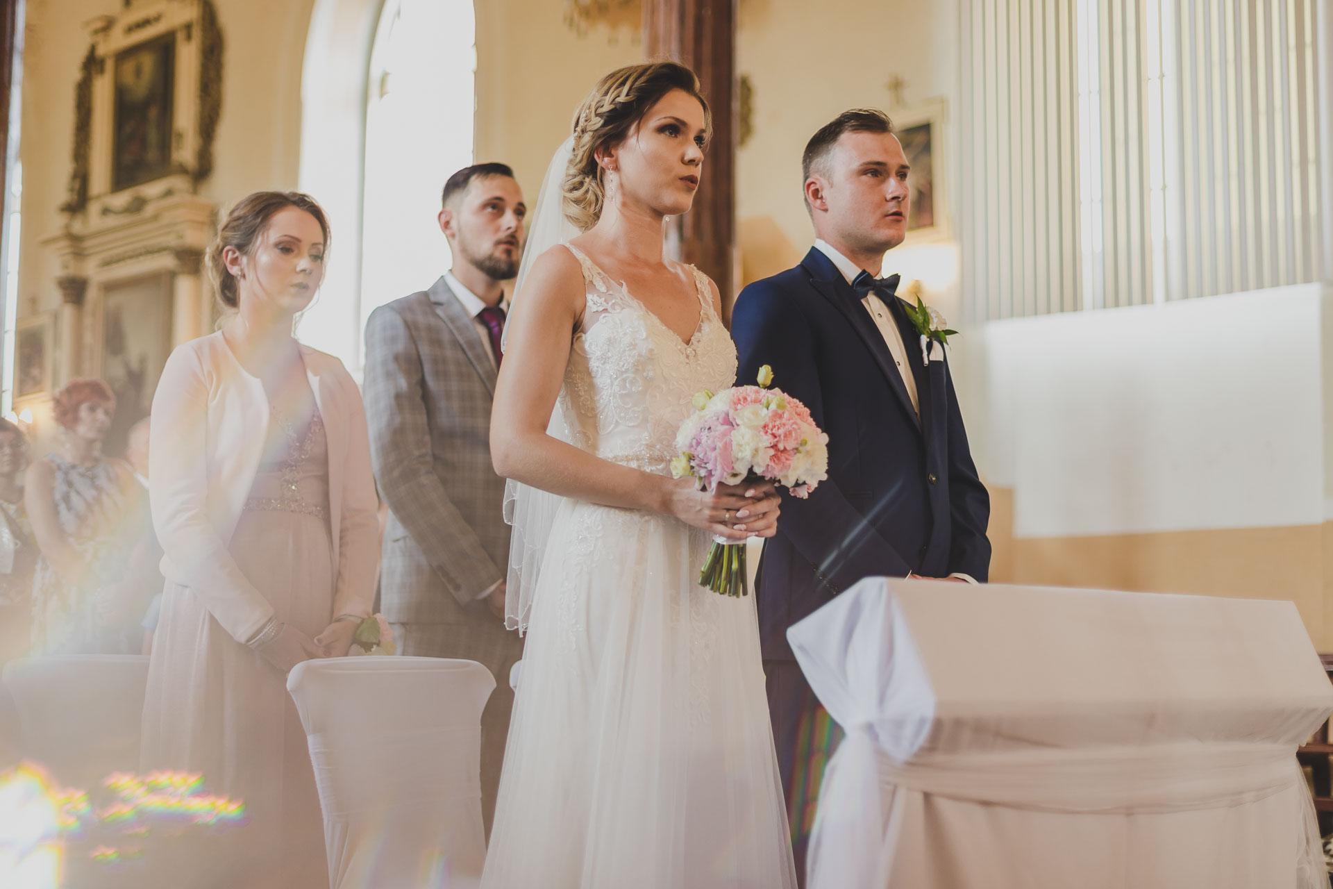 Para młoda - ceremonia ślubna