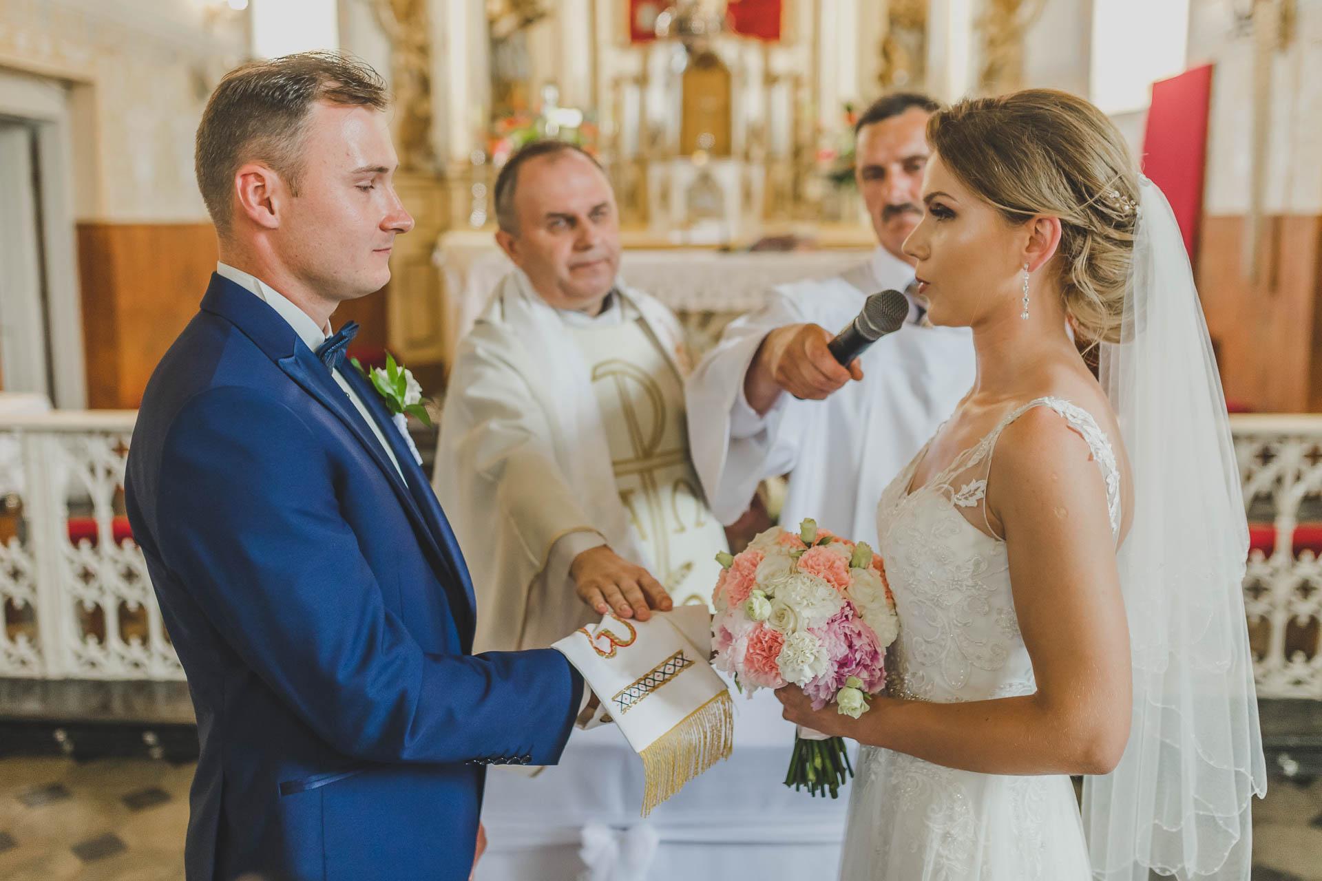 Przysięga małżeńska pani młodej