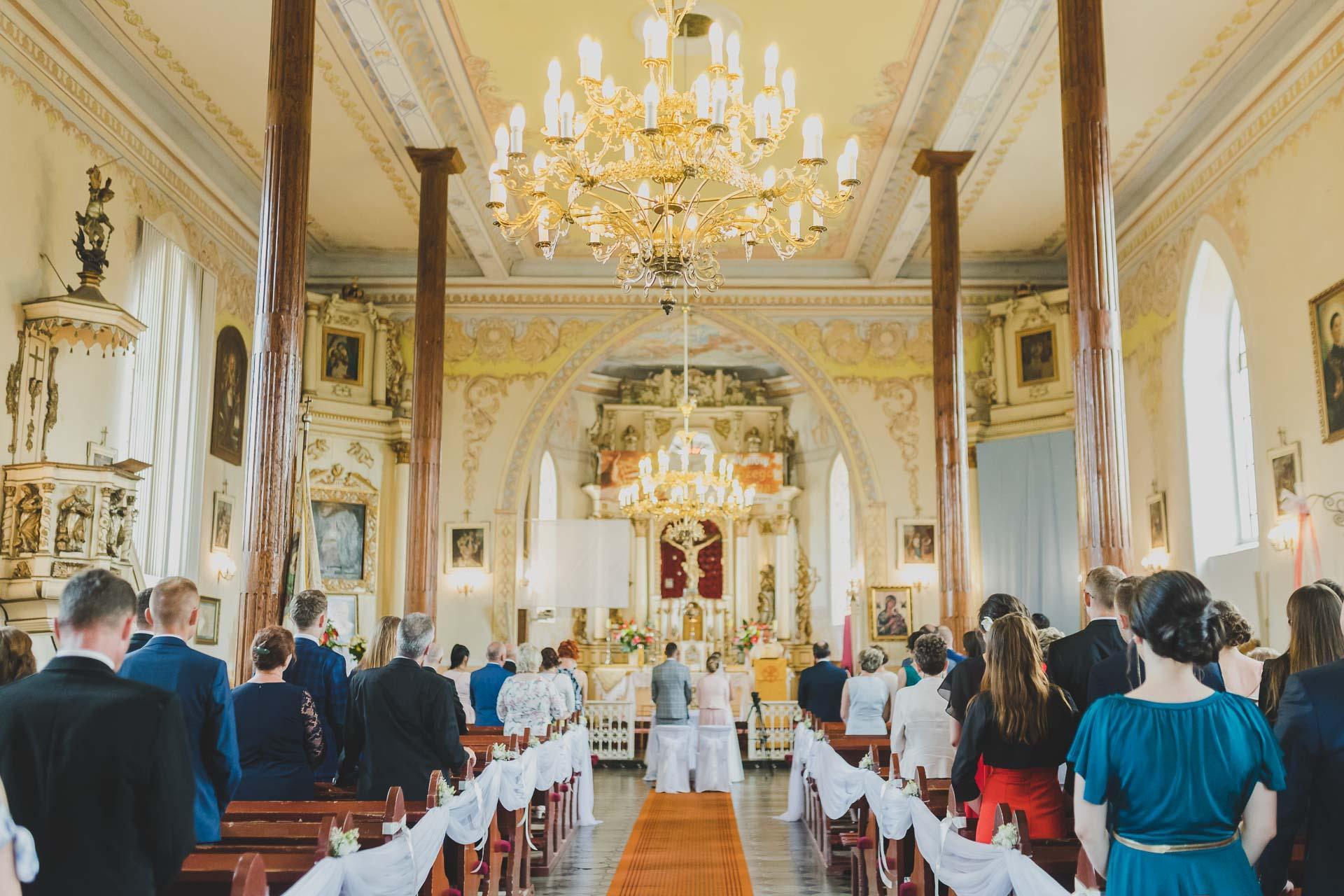 Ślub kościelny - reportaż ślubny