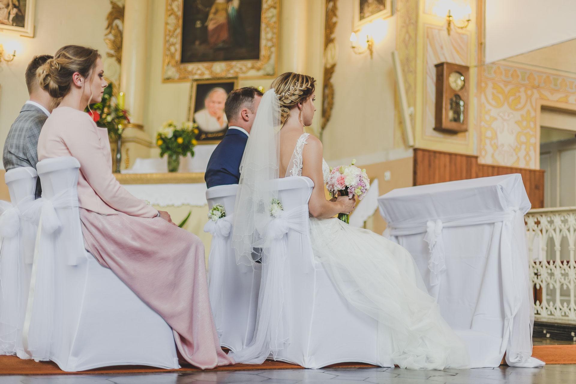 Zdjęcia ślubne Dąbrowice - ślub