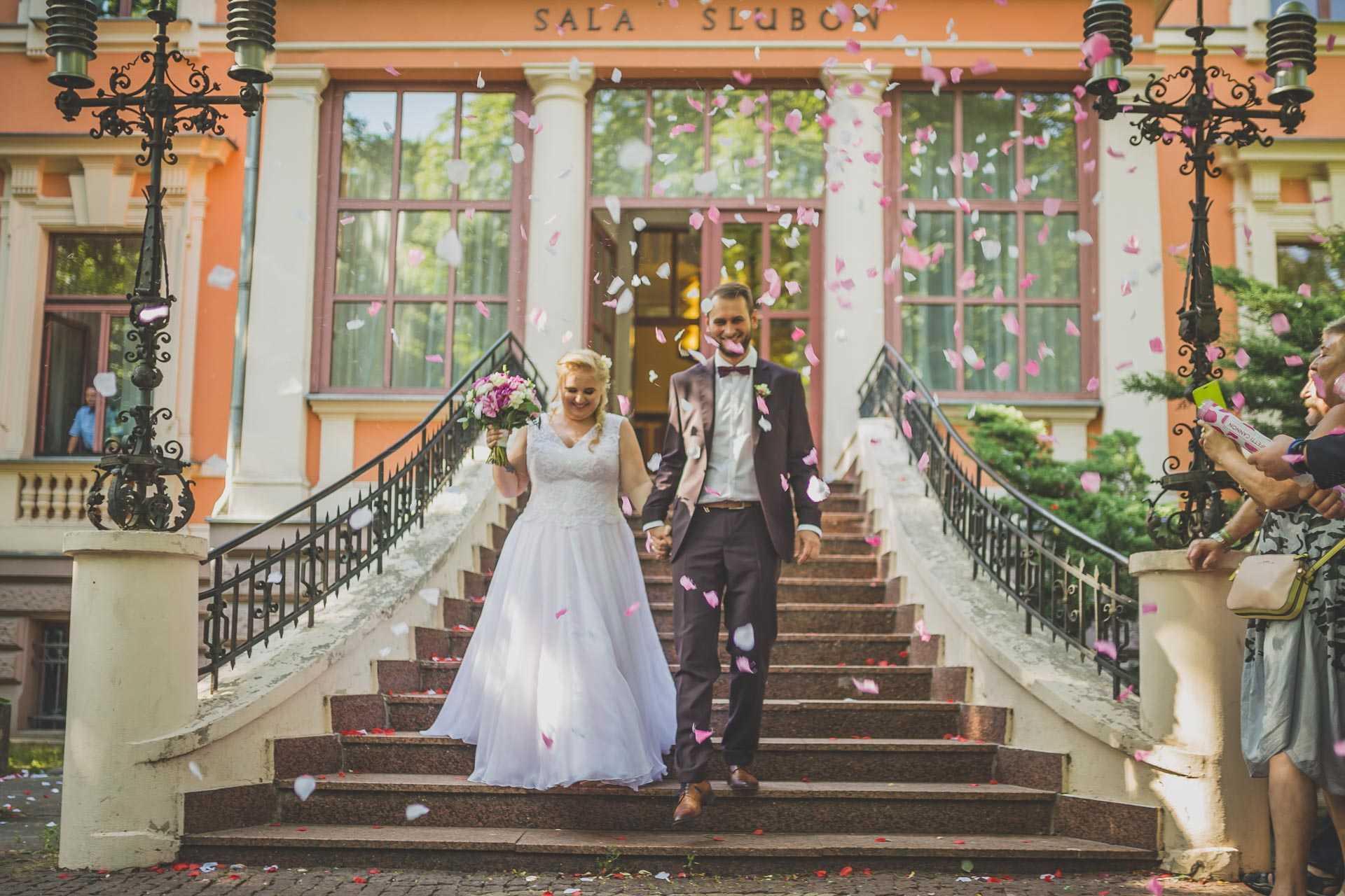 Ślub z bajki w Łodzi - Oliwia i Robert