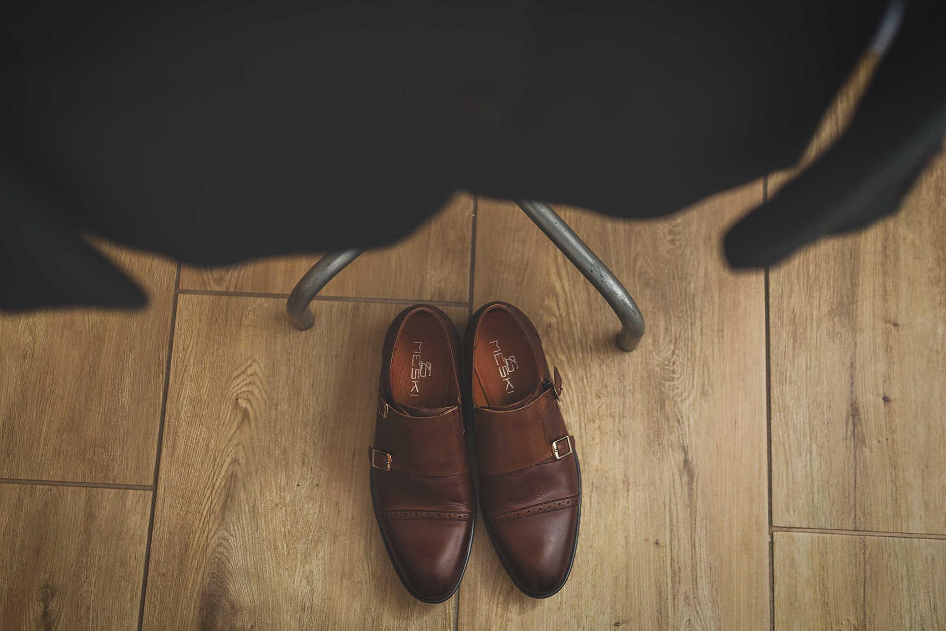 Przygotowania - Detal - Buty Pana Młodego