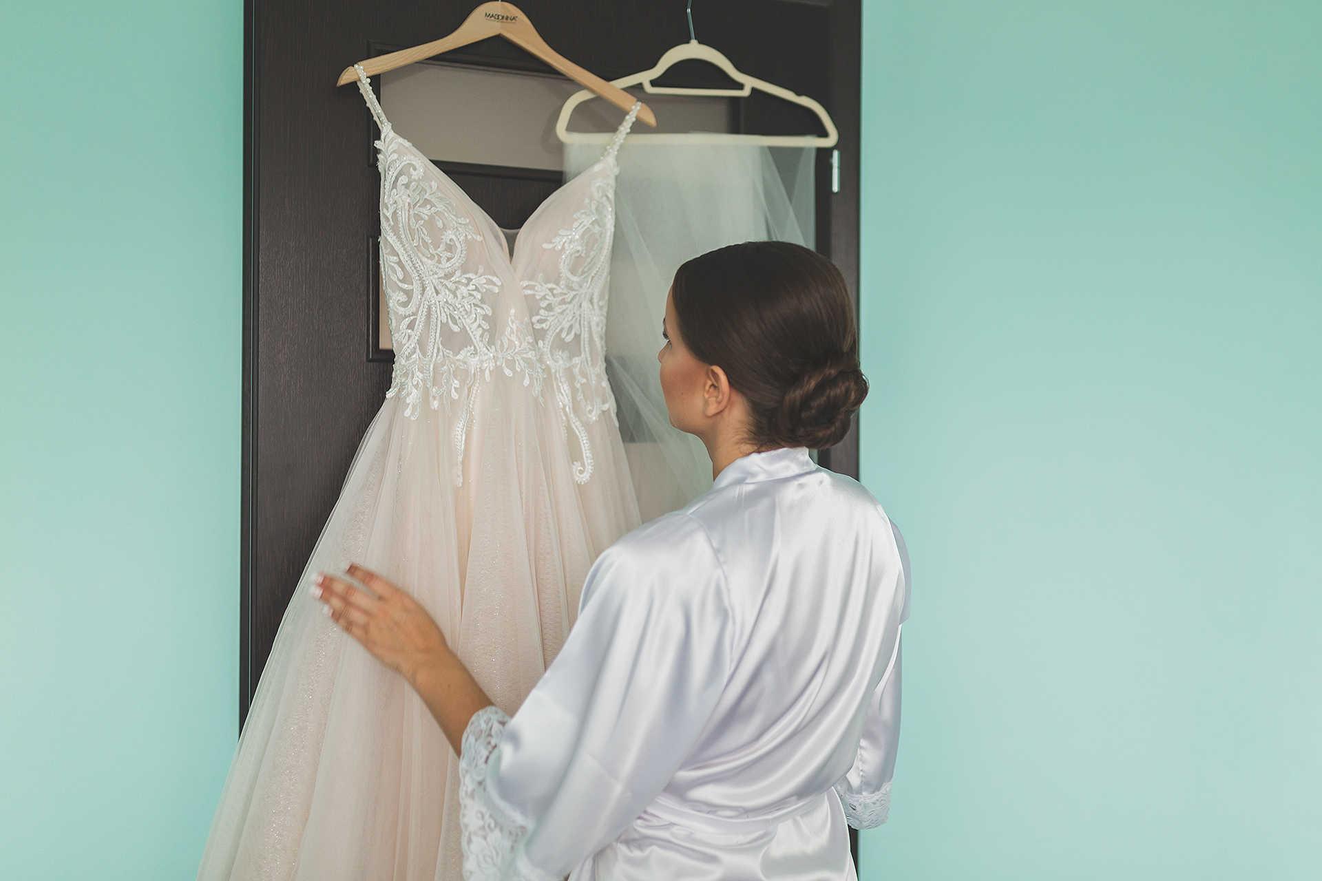Przygotowania - suknia ślubna
