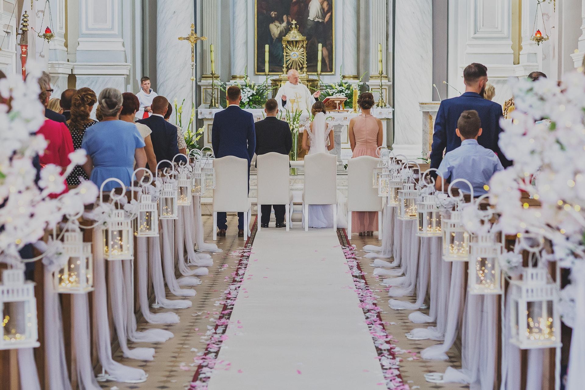 Ceremonia Zaślubin - kościół