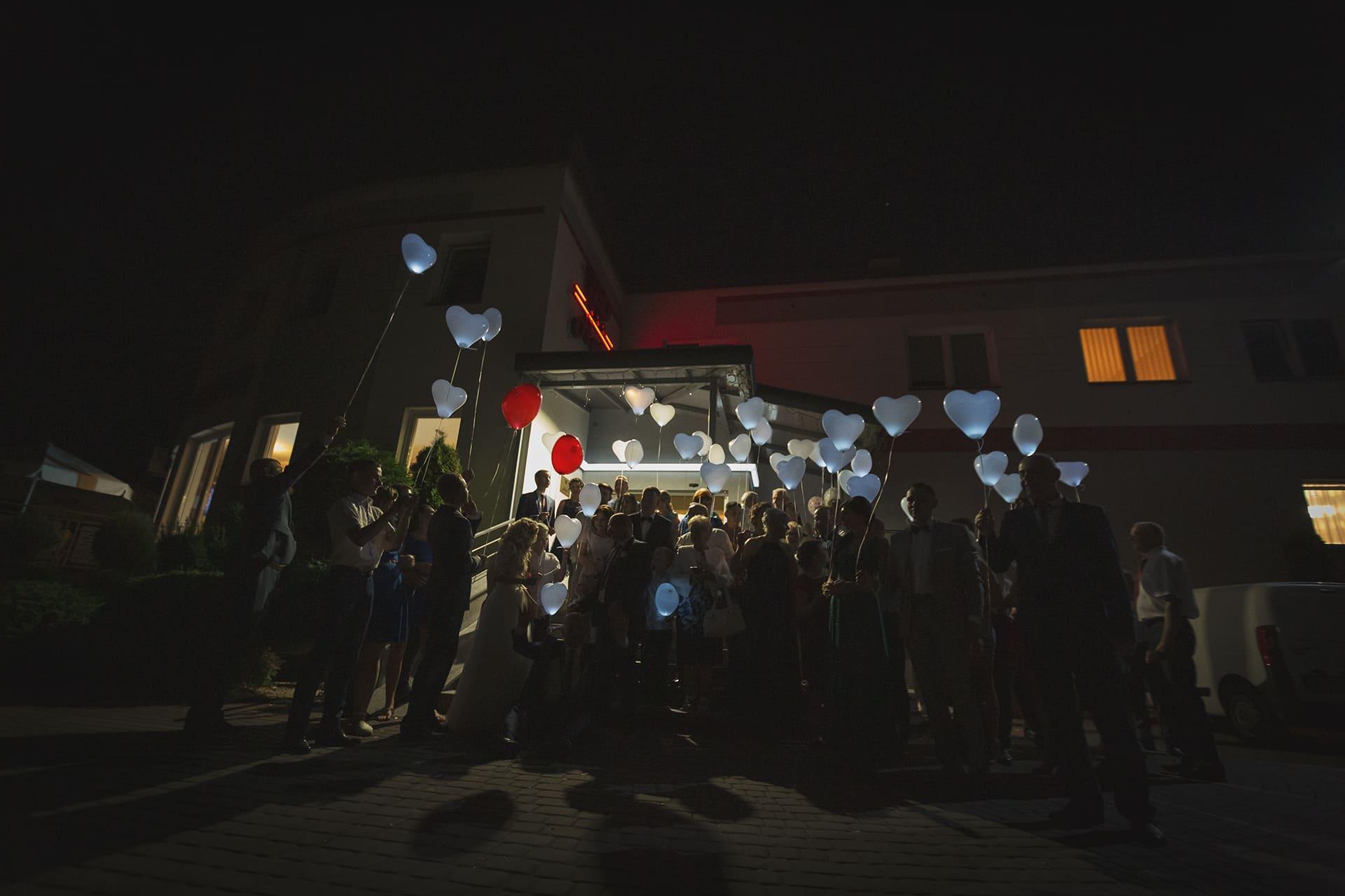 Balony LED z Helem