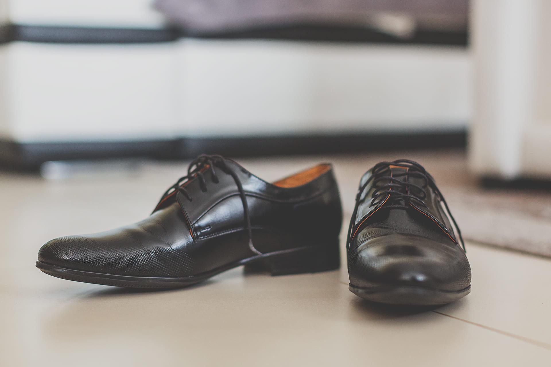 Przygotowania ślubne - buty pana młodego