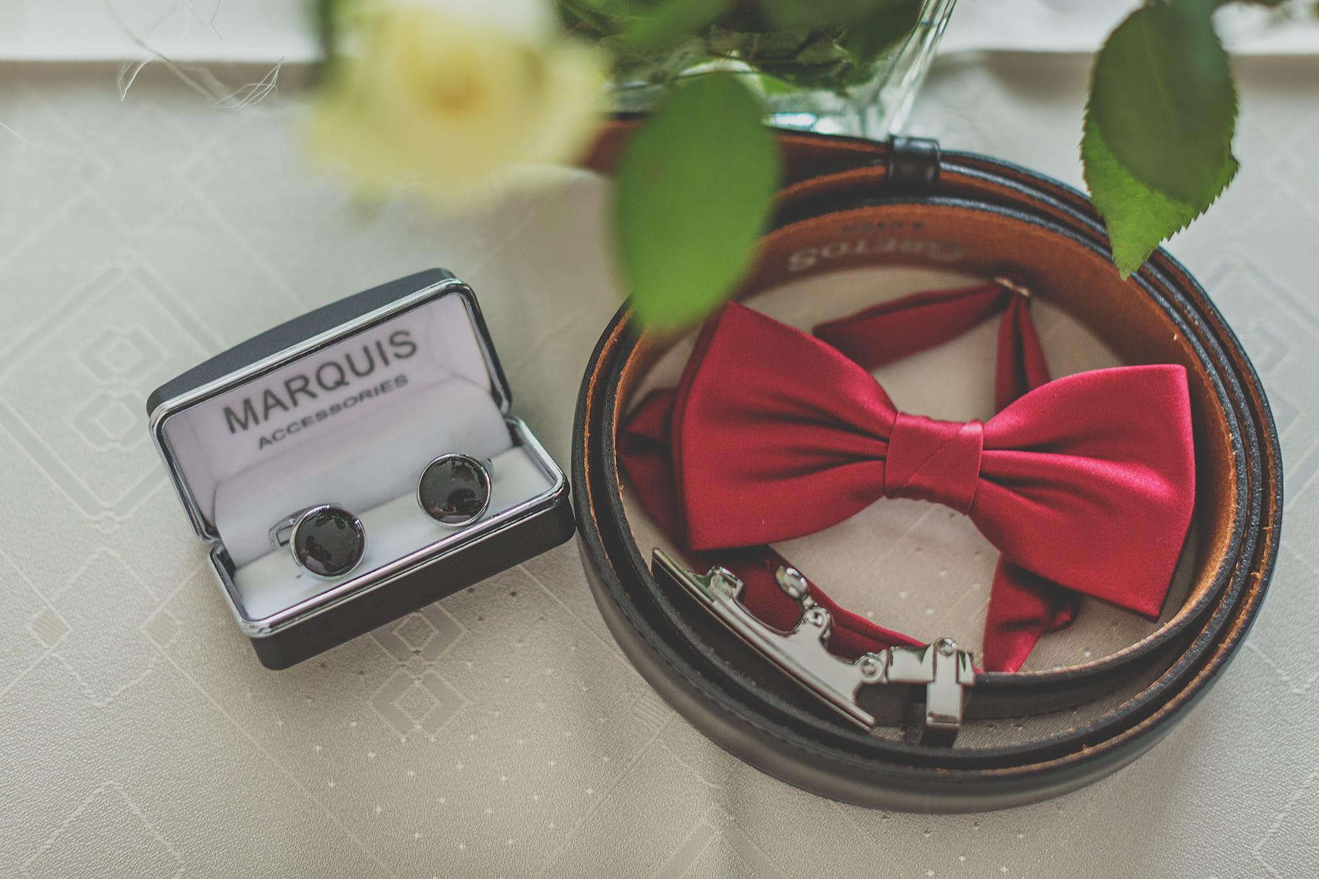 Przygotowania ślubne - detal