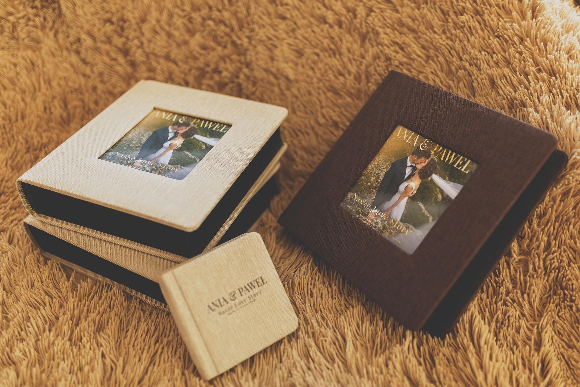Personalizowane Albumy ślubne