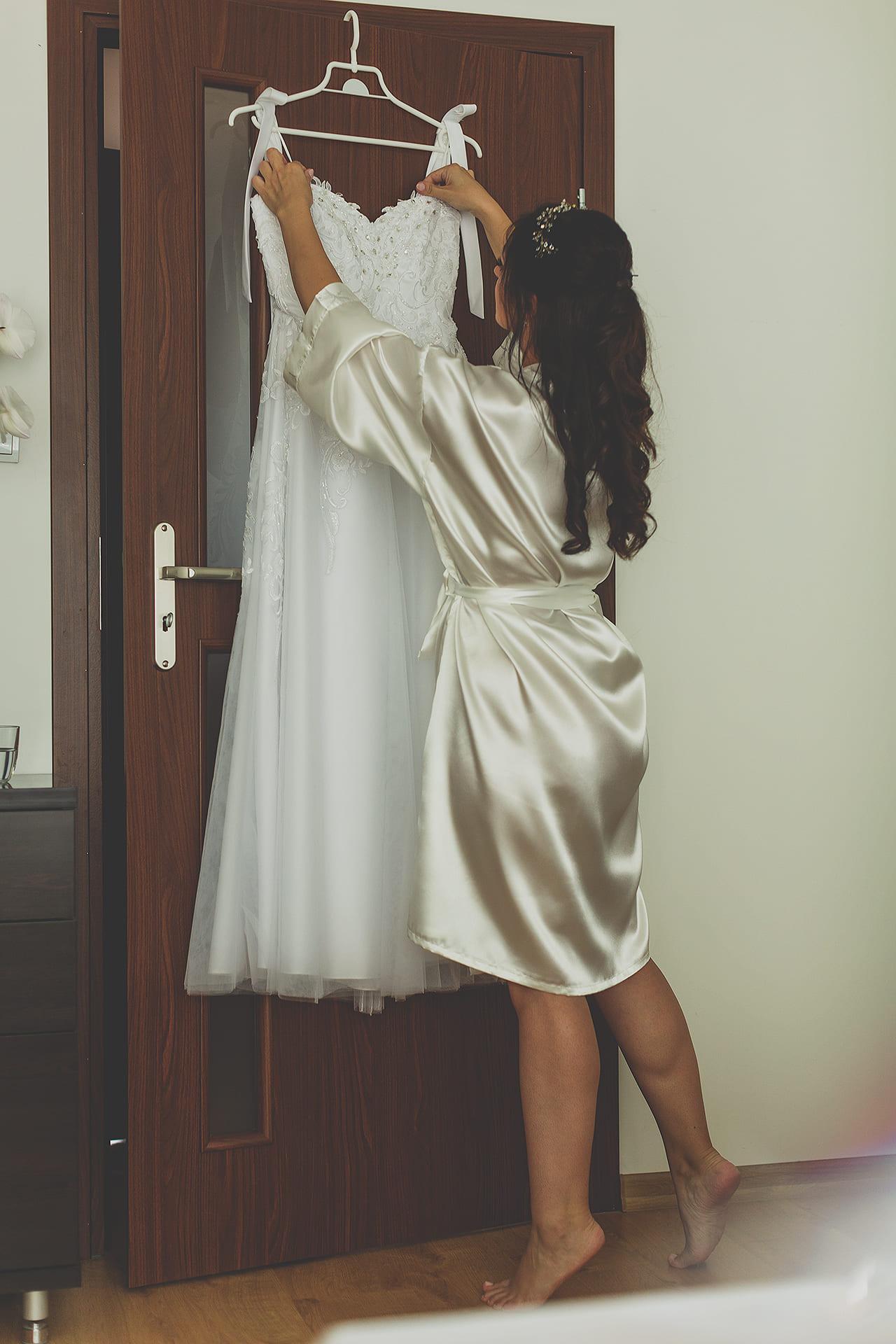 Reportaż ślubny - przygotowania u panny młodej