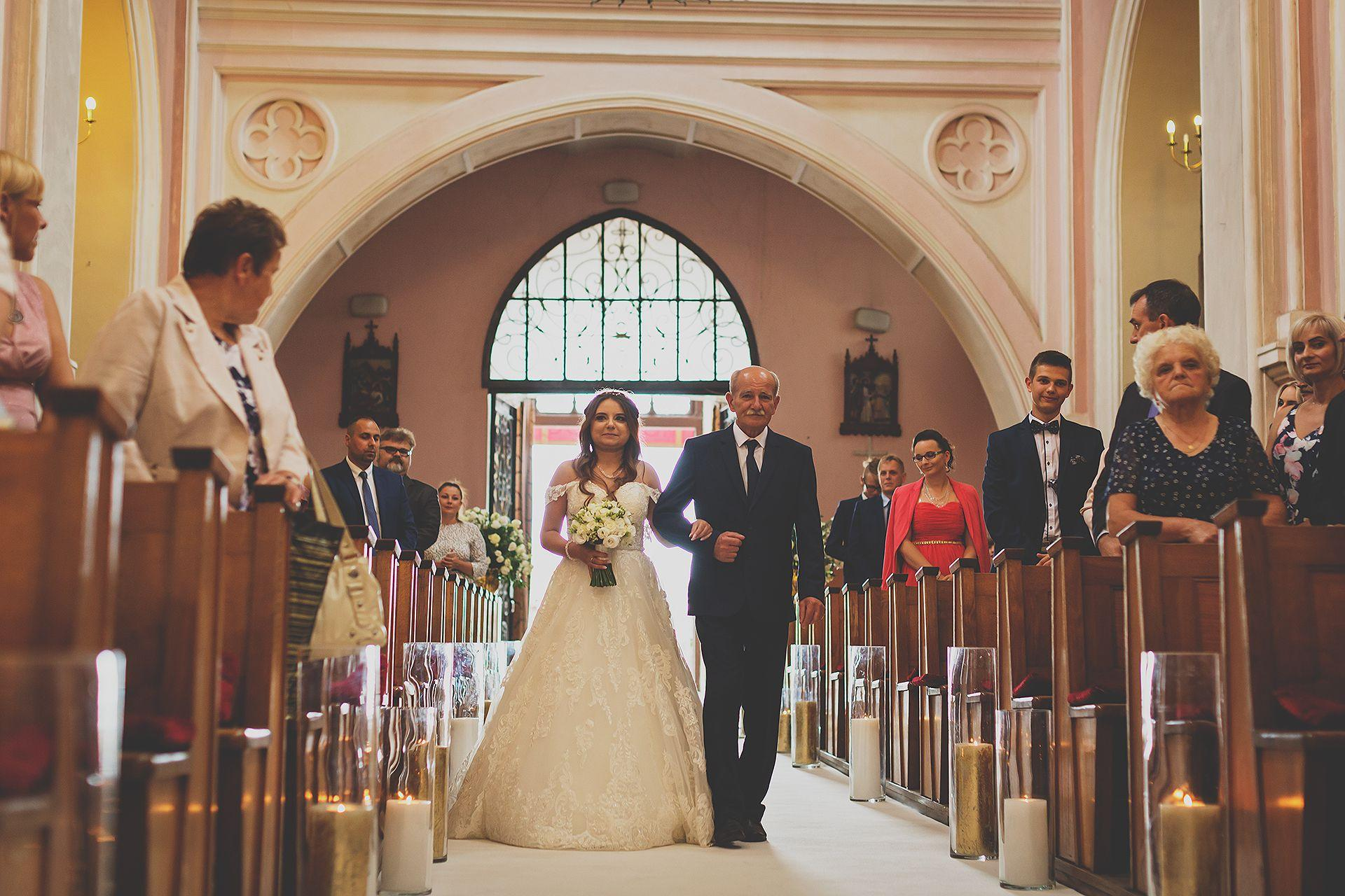 Ceremonia wejście Panny Młodej