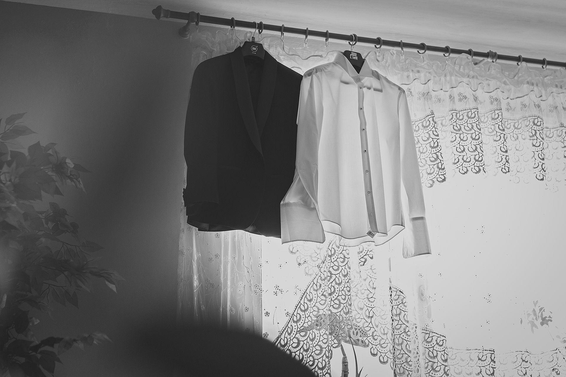 Przygotowania Ślubne  - Garnitur