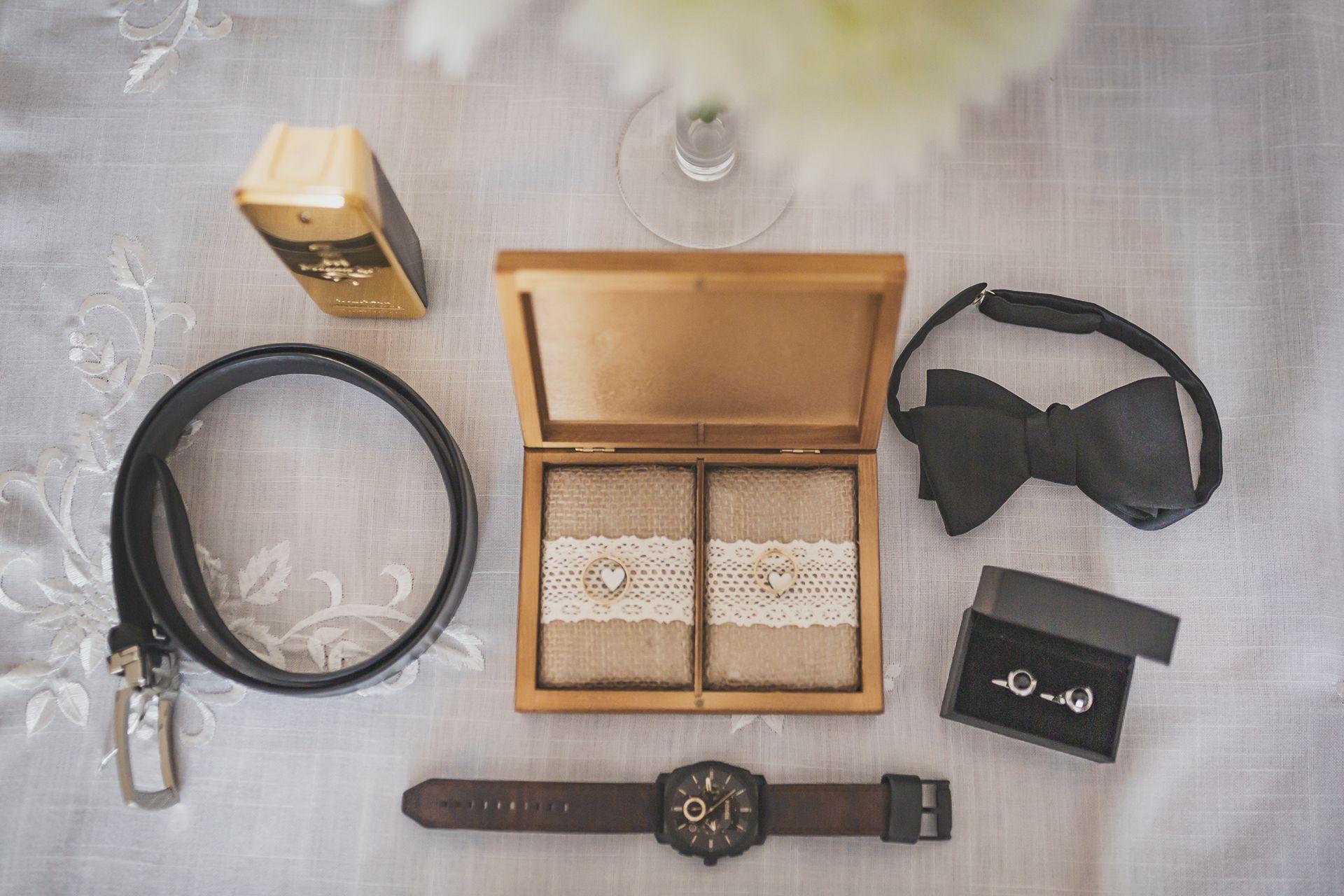 Reportaż ślubny przygotowania detal