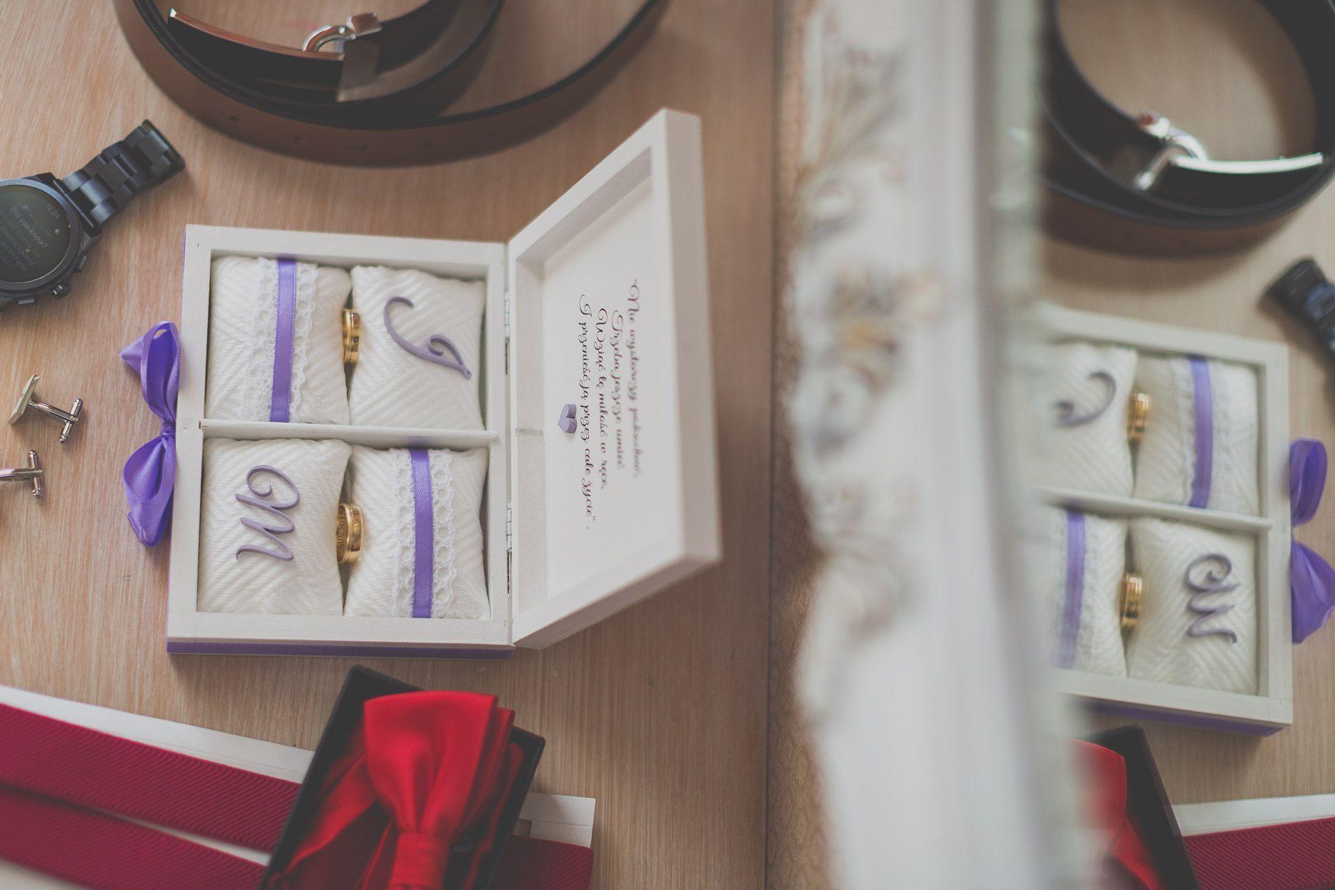 Przygotowania ślubne - obrączki