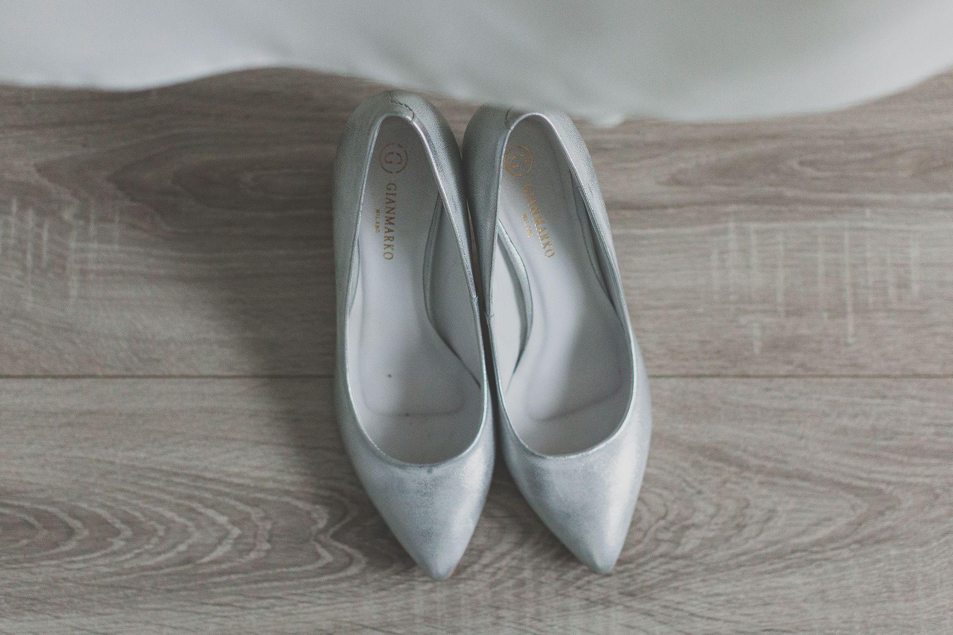Buty ślubne pani młodej