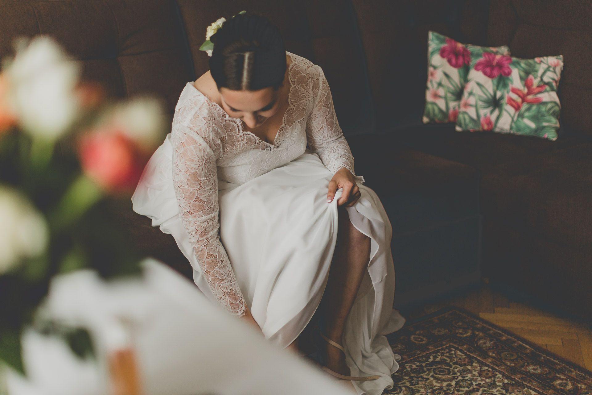 Przygotowania ślubne - panna młoda