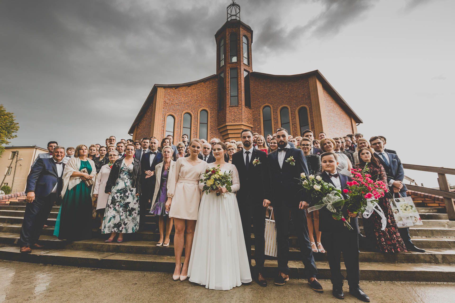 Zdjęcie grupowe -Działoszyn parafia Bł. Michała Kozala