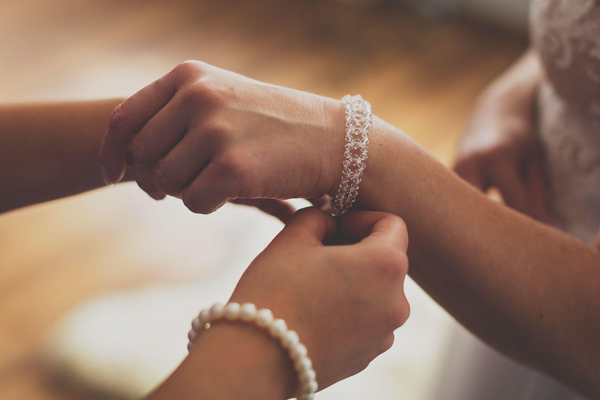 Bransoletka ślubna