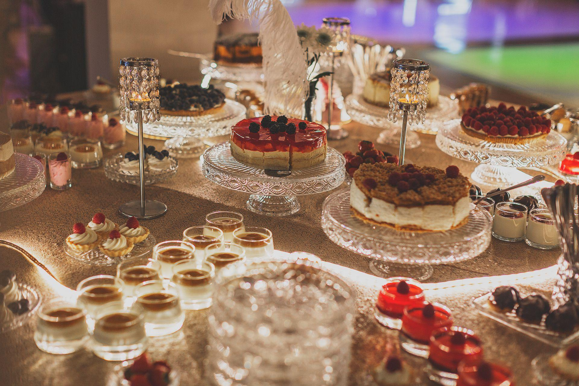 Słodki stół - Zielona Weranda